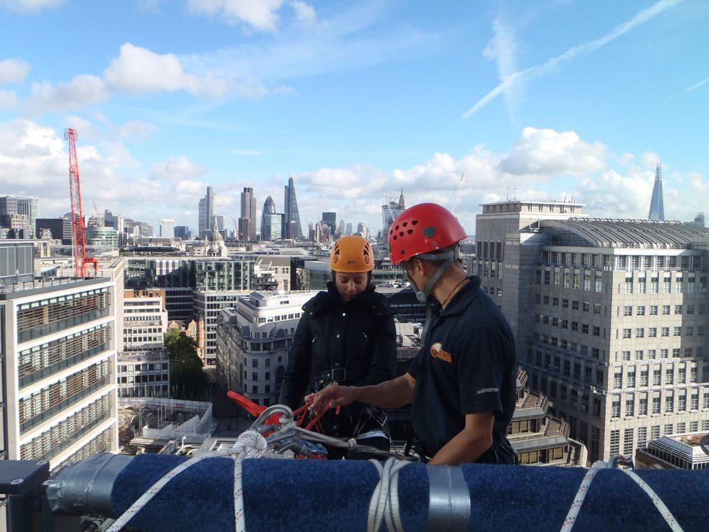 London Abseil - Dolomite Training Charity Abseil