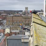 Norwich Castle Abseil - Dolomite Training Charity Abseil